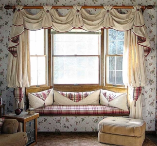 Bay Windows & Cushions.
