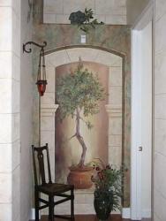 Olive Tree w/ Stone Arch.