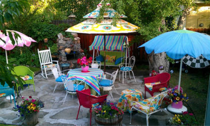Festive Summer Patio.